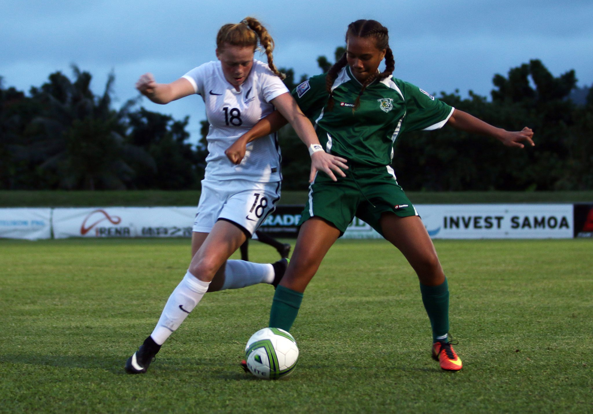 Young football women of the Cook Islands have been training hard recently as they prepare themselves for the OFC U-16 Women's Championship 2019.